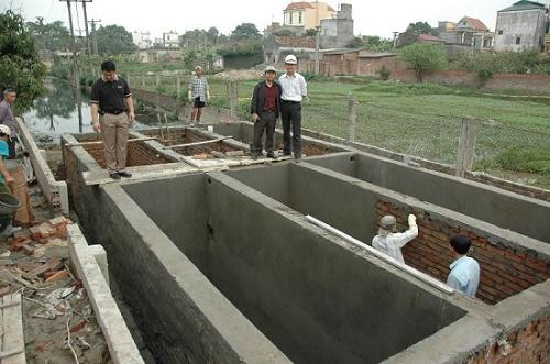 lắp đặt bể nước thải giá rẻ