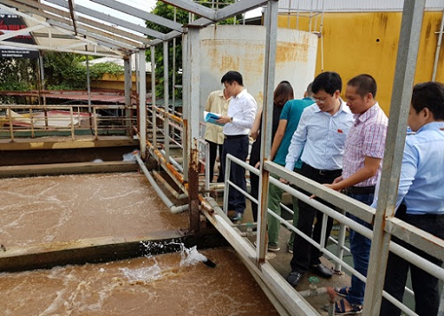quy định về hệ thống xử lý nước thải
