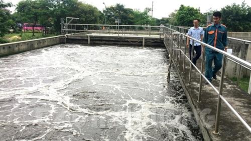 nâng cấp bể xử lý nước thải