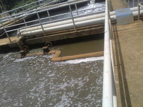 sự cố bể xử lý nước thải