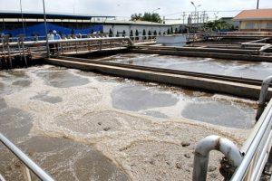 bể xử lý chất thải khu công nghiệp