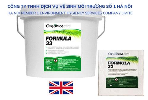 Vi sinh xử lý nước thải sinh hoạt Formula 33