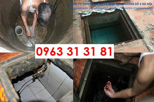 dịch vụ vệ sinh bể nước