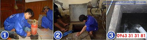 dịch vụ vệ sinh bể nước tại công ty vệ sinh số 1 Hà Nội