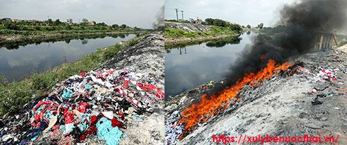 ô nhiễm tại xã hòa bình thường tín