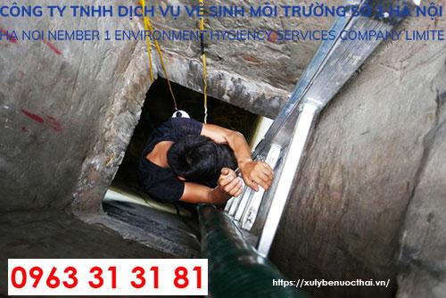 thau rửa bể nước tại Hà Nội