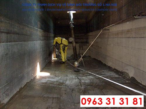 dịch vụ thau rửa bề nước tại Thạch thất