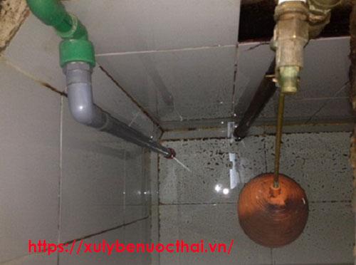 thau rửa bể nước tại thường tín hà nội