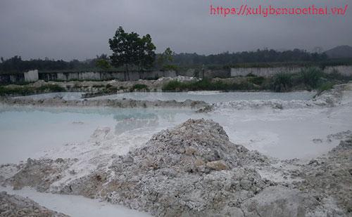 bùn thải không nguy hại