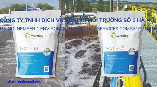 xử lý bùn thải bằng vi sinh Microtech