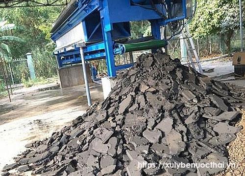 tái sử dụng bùn thải
