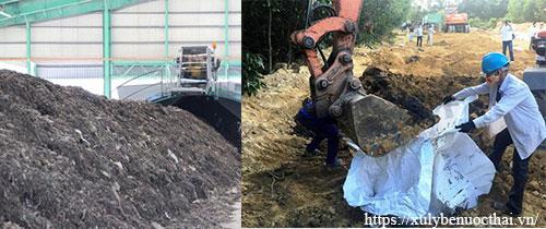 phân loại bùn thải y tế