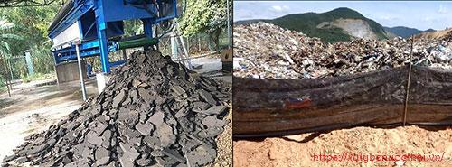 thu gom và xử lý bùn thải không nguy hại