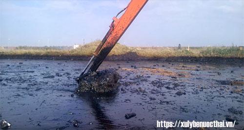 bùn thải thủy sản